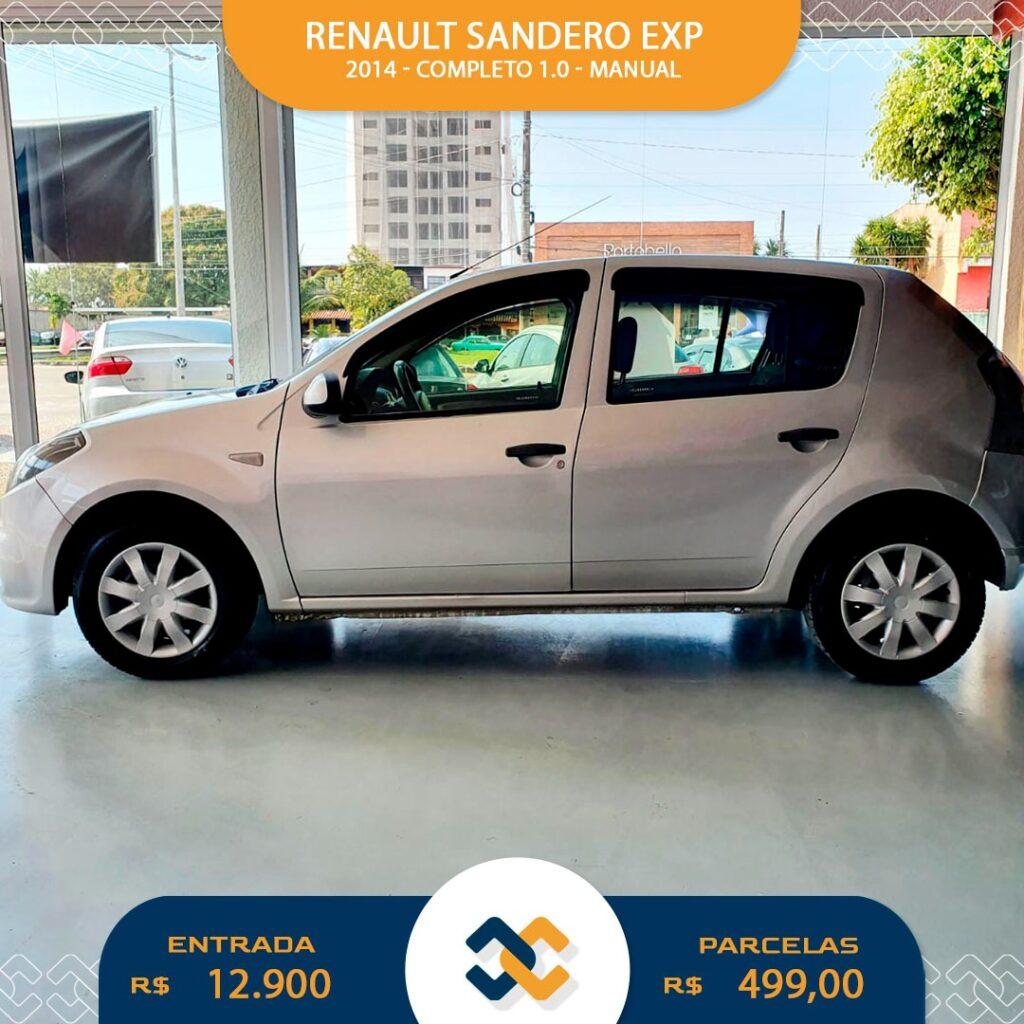SANDERO EXP