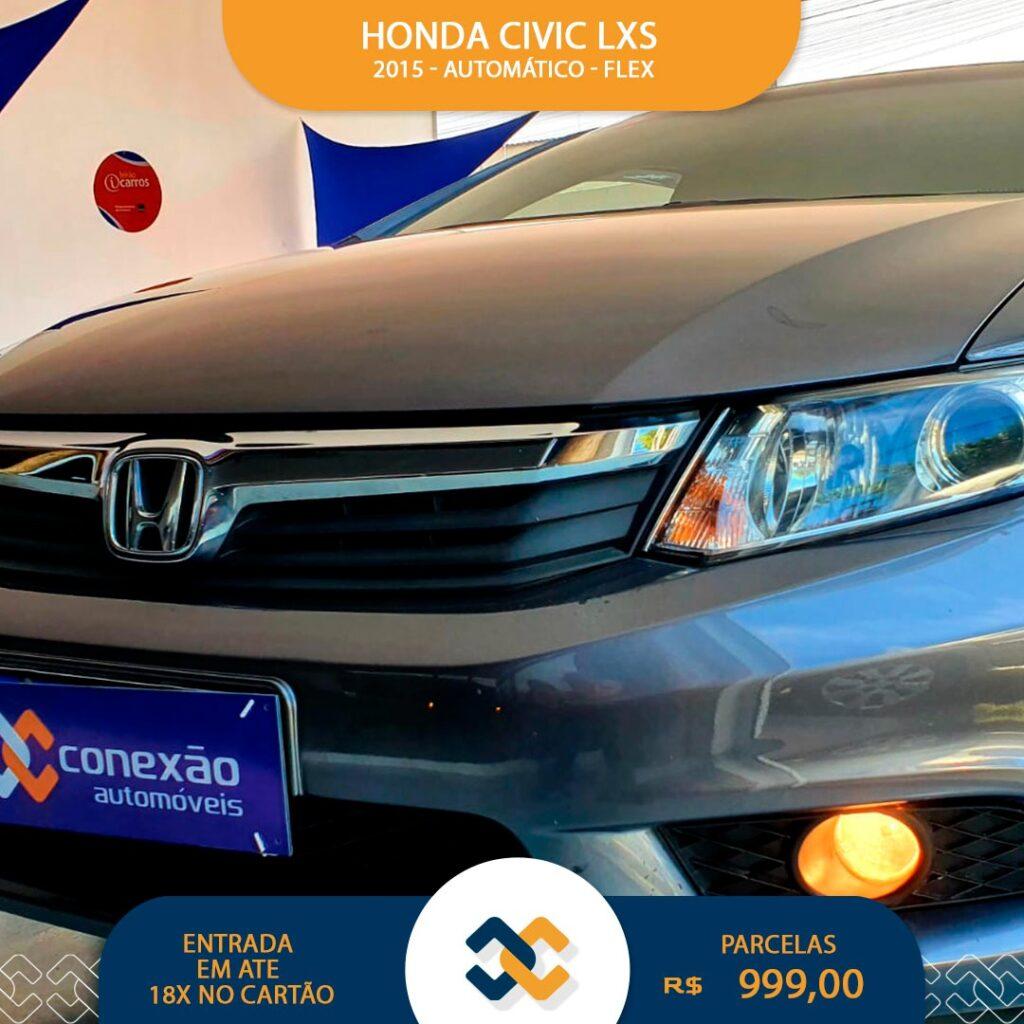 CIVIC LXS AUTOMÁTICA